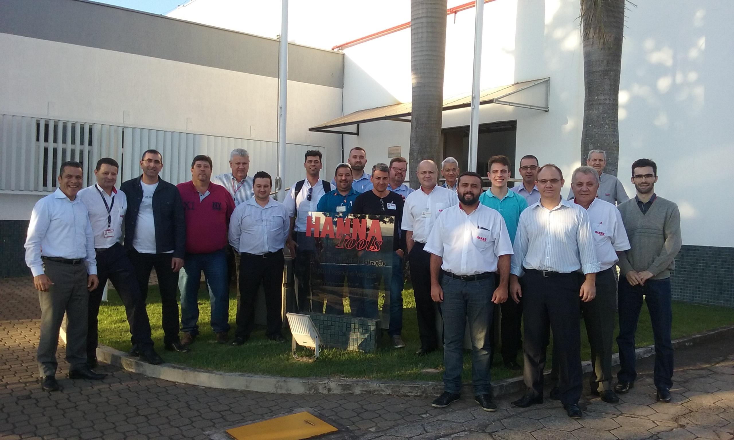 Participantes da Meeting Tècnico-Comercial