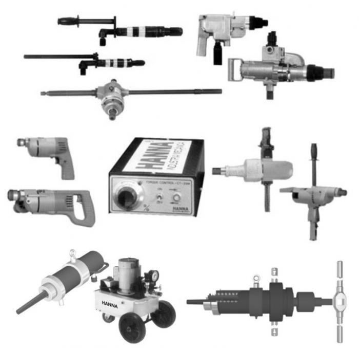 Linha Expansores Elétricos e Pneumáticos e Extratores Elétricos e Mecânicos